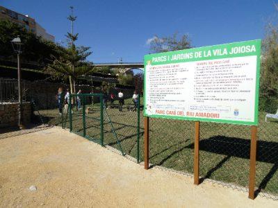 Parque canino en Villajoyosa