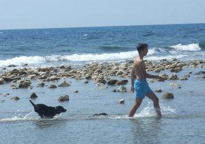 Disfrutando en Playa Punta del Riu Sec- El Campello