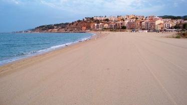 Vista de la Playa de la PIcordia - Areyns de Mar