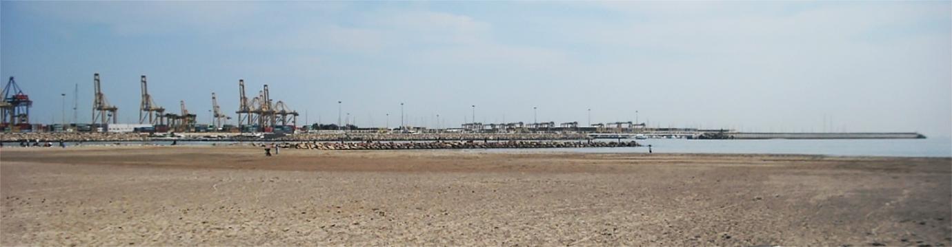 Playa para perros en Valencia - Playa Pinedo