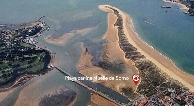 Playa Muelle de Somo