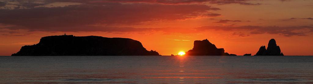 Amanecer Playa L'Estartit - Islas Medas
