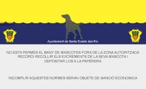Playas para perros en Ibiza - Santa Eularia des Riu - Playa Es Farallo