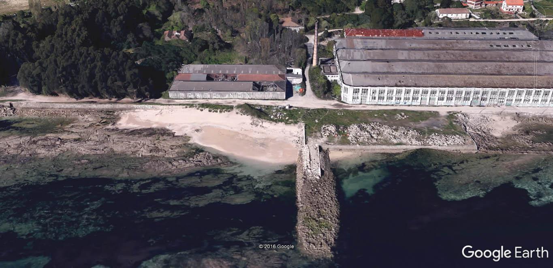 Playa Cunchiña - Plyas para perros en Pontevedra - Cangas - Galicia - Playa canina