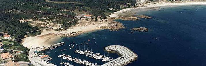Playa Portiño - Playas para perros en Pontevedra - Galicia - O Grove
