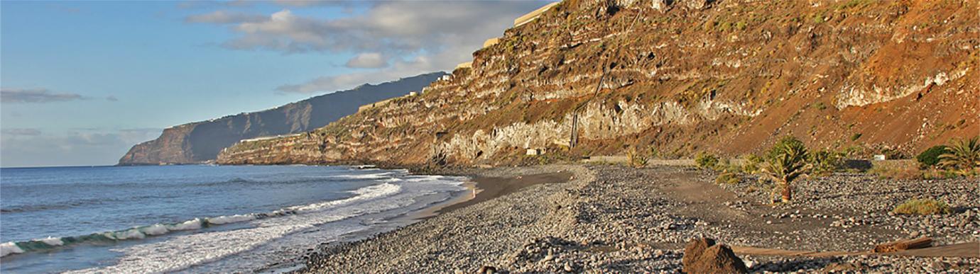 Playa para perros en La Palma - Playa Los Guirros - Tazacorte